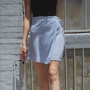 BRANDY MELVILLE Genevieve skirt, floral wrap